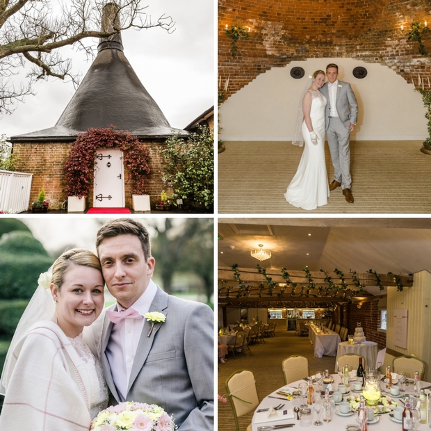 Winter wedding at The Venue at Kersey Mill