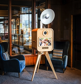 Picture-perfect booth from Surrey photographer