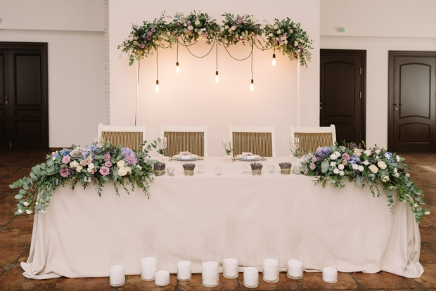 Floral fashions from Surrey florist