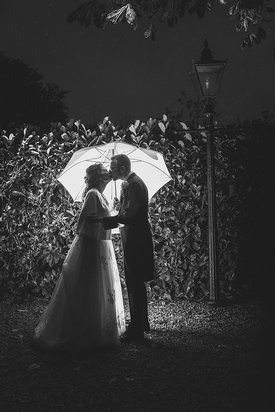 Local photographer, Lucy Smith, from Smith Imaging gives her top tips on how to deal with bad weather on your big day