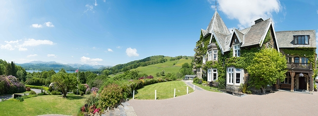 Find out more about the 19th-century wedding venue Holbeck Ghyll