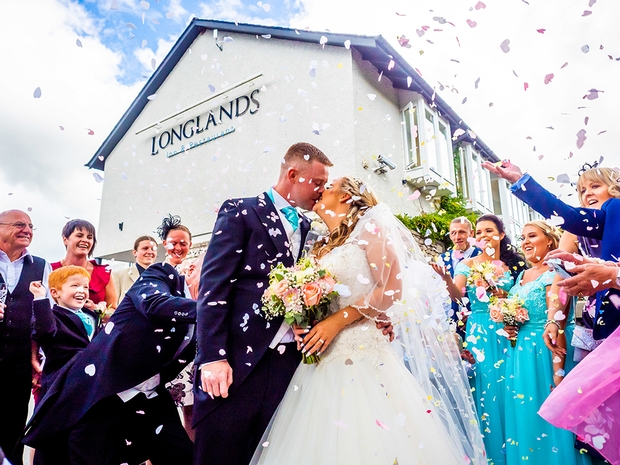 Get married at the charming Longlands Hotel