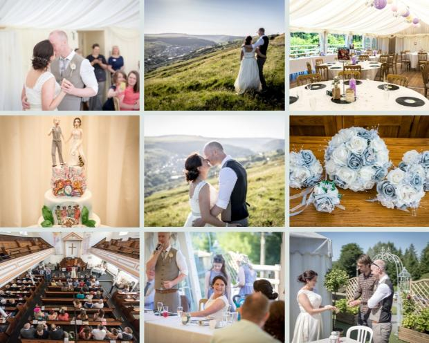 Kristy and Ceri tied the knot with a beautiful wedding at The Brynffynon