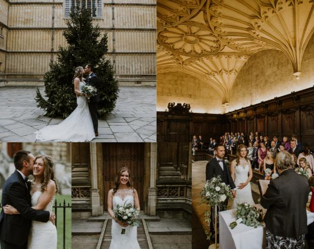 Your Berks, Bucks & Oxon real wedding extra: Megan and James at the Bodleian Libraries