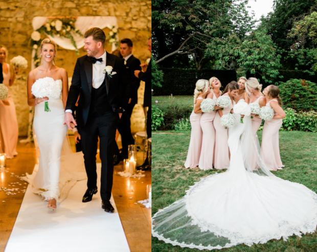 Your Berks, Bucks & Oxon real wedding extra: Nicole and Ricky at Notley Abbey