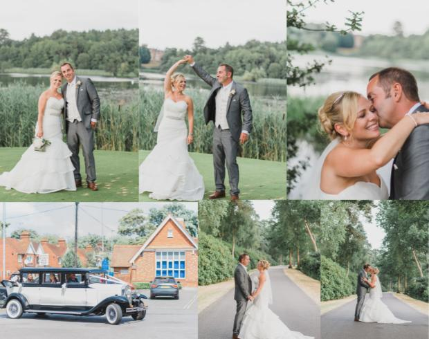 Your Berks, Bucks & Oxon real wedding extra: Marie and Daniel at Bearwood Lakes