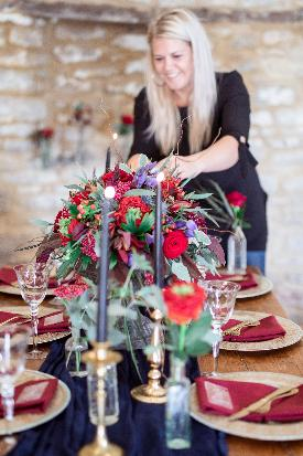Jill Davies and Alexandra Clarke join forces to create A Touch of Wonder planning, styling and floristry service based in Wiltshire