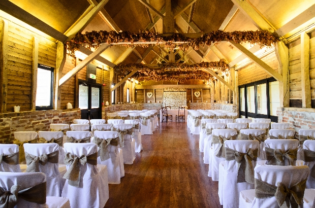 Wellington Barn wedding and event venue in Calne, Wiltshire, set to host Winter Wedding Fayre on 3rd February, 2019