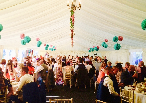 We love Yorkshire's First Choice Marquee Hire