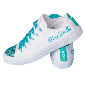 Wedding Converse has launched personalised sneakers for brides and grooms
