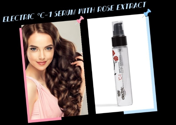 Discover new the Electric °C-1 Serum with Rose Extract
