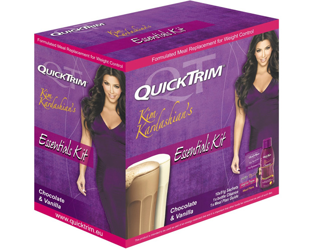 Kim Kardashian launches QuickTrim in the UK