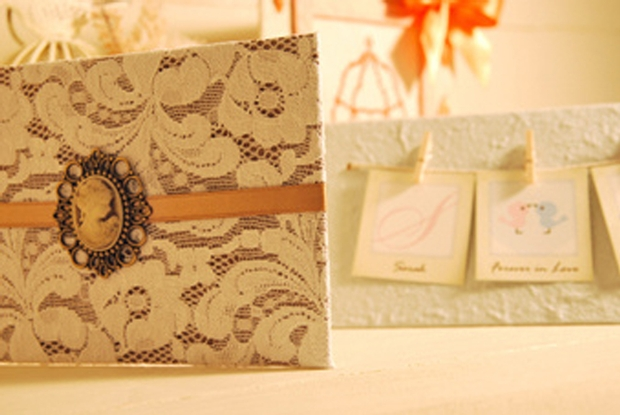 New bespoke wedding invitations by Idea Handmade Cards