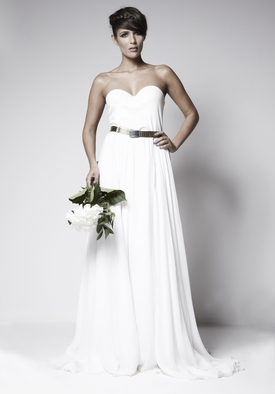 Luxury fashion designer Zoe Boomer launches made to order bridal collection online