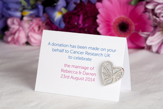 Designer to the stars Suzanne Neville launches cancer charity wedding favour