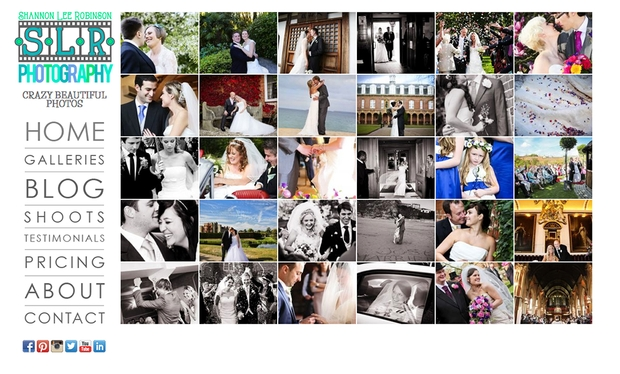 SLR Photography launches new wedding website