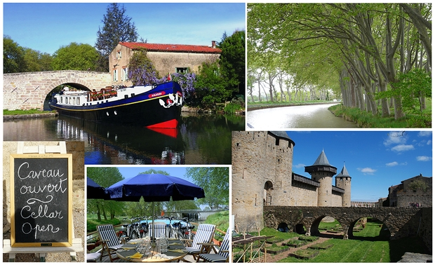 Barging on the Canal du Midi