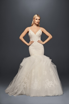 7650b68557f Bridal fashion news  Zac Posen unveils latest David s Bridal collection