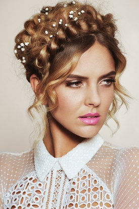 Francesco Group Bridal Collection – Braided Crown