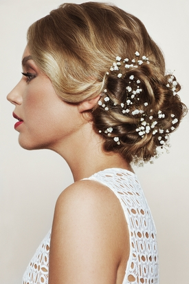 Francesco Group Bridal Collection – Flower Bun