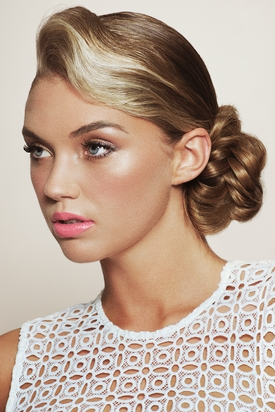 Francesco Group Bridal Collection – Low Knotted Bun