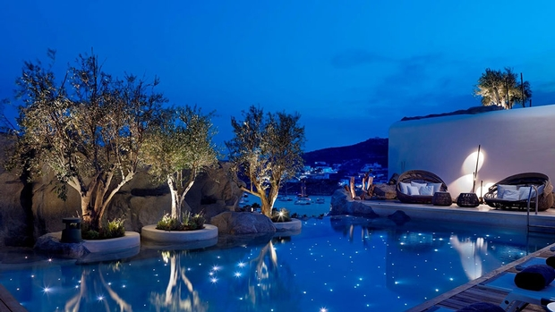 Pamper yourself at the Kenshō Spa in Mykonos