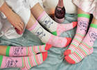 Fab wedding socks from Hertfordshire's Sock Academy