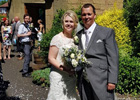 Guests abandon wedding to save lives at sea at Tynemouth wedding