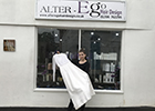 Colchester-based salon auctions wedding dress for St Helena Hospice