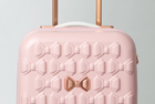 Ted Baker's Beau luggage collection is the perfect match for your honeymoon wardrobe