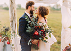 Four In Ten Happy Couples Go Over Budget on the Big Day