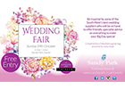 Wedding Fair at Sandy Park, Exeter to take place on Sunday 29th October, 2017 in association with Debenhams