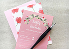 Leaf Lane Studio based in West Cornwall has just launched offering wedding stationery and paper products