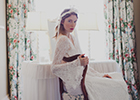 Fashion editor's favourite from Hampshire bridal couture label, Calm Amongst the Chaos