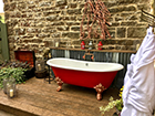 A Corner of Eden has installed an outdoor bath ideal for a romantic mini-moon
