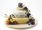 Delicious new cheese wedding cakes available at Bath's Paxton & Whitfield
