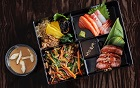 Lunch on the blow: hair salon launches sushi delivery service