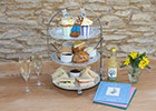 Couples and their guests celebrating Easter nuptials can enjoy a Peter Rabbit-themed Cornish afternoon tea at Healey's Cyder Farm