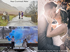 Local photographer, David Rucker proves that you can get gorgeous wedding photos in all weather conditions