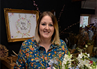 Exclusive interveiw with award-winning Herefordshire florist
