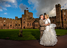 Big Brother star ties the knot at Cheshire's Peckforton Castle