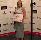 Local make-up artist, Nicola Jane has won an award at the Make-up Awards