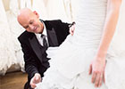 Award-winning bridal designer Ian Stuart appears in new Channel 4 series <i>The Posh Frock Shop</i> filmed at his London-based shop The Blewcoat