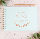 Stationery company Norma & Dorothy  has launched a new guest book collection