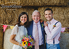 Some familiar faces get married at Castle Farm, Knaresborough