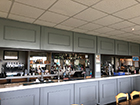 New-look bar at Suffolk wedding venue.