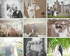 Jordan and Mark tied the knot with a glamorous theme at the beautiful Hensol Castle