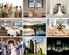 Helen and Lloyd embraced the festive season with a stunning wedding at Hensol Castle