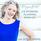 Wedding planner, Zoë Marie Binning has launched the second series of her wedding-planning podcast