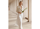 MaxMara has just launched its first bridal collection in the UK this October
